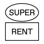 Super Rent Logo