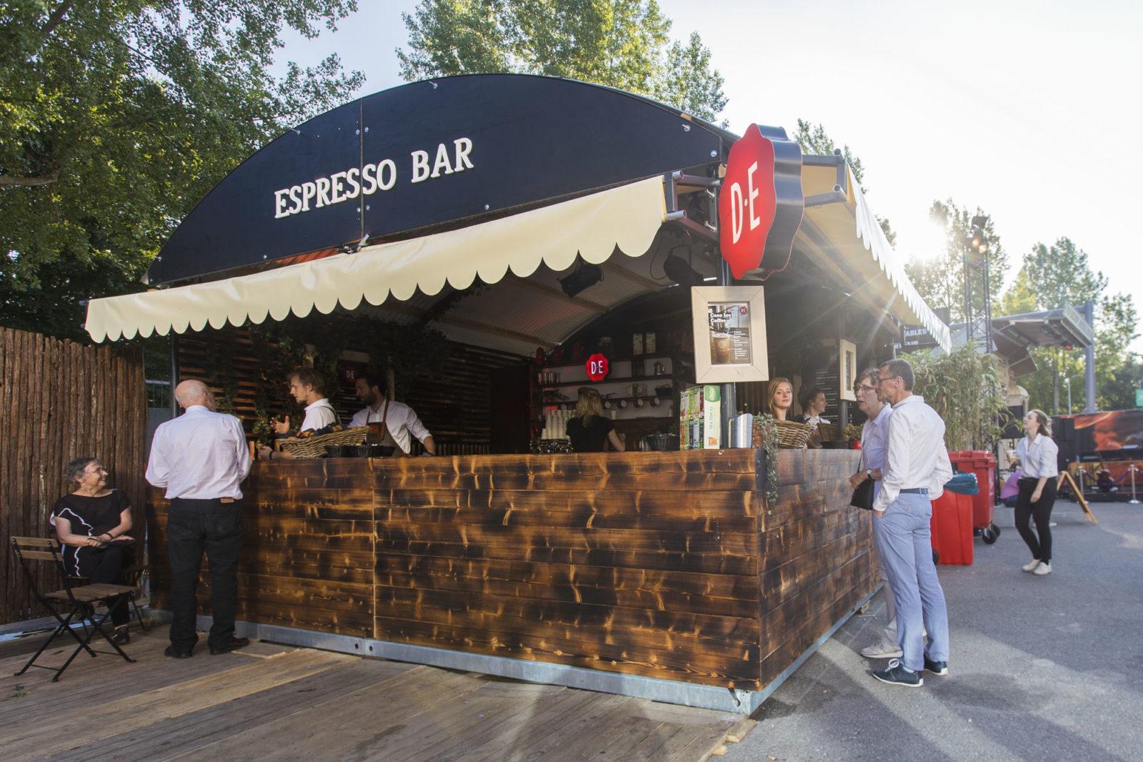 Triomf - Espresso bar at North Sea Jazz festival